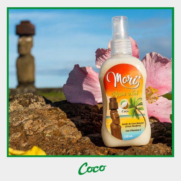 Morí Rapa Nui - Aceite de coco