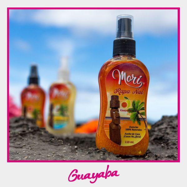 Morí Rapa Nui - Aceite de coco (Guayaba)